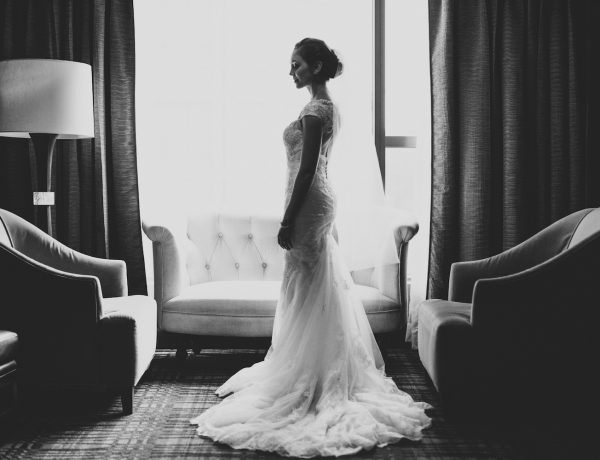 Bridal Portrait at Hotel 1000 Seattle