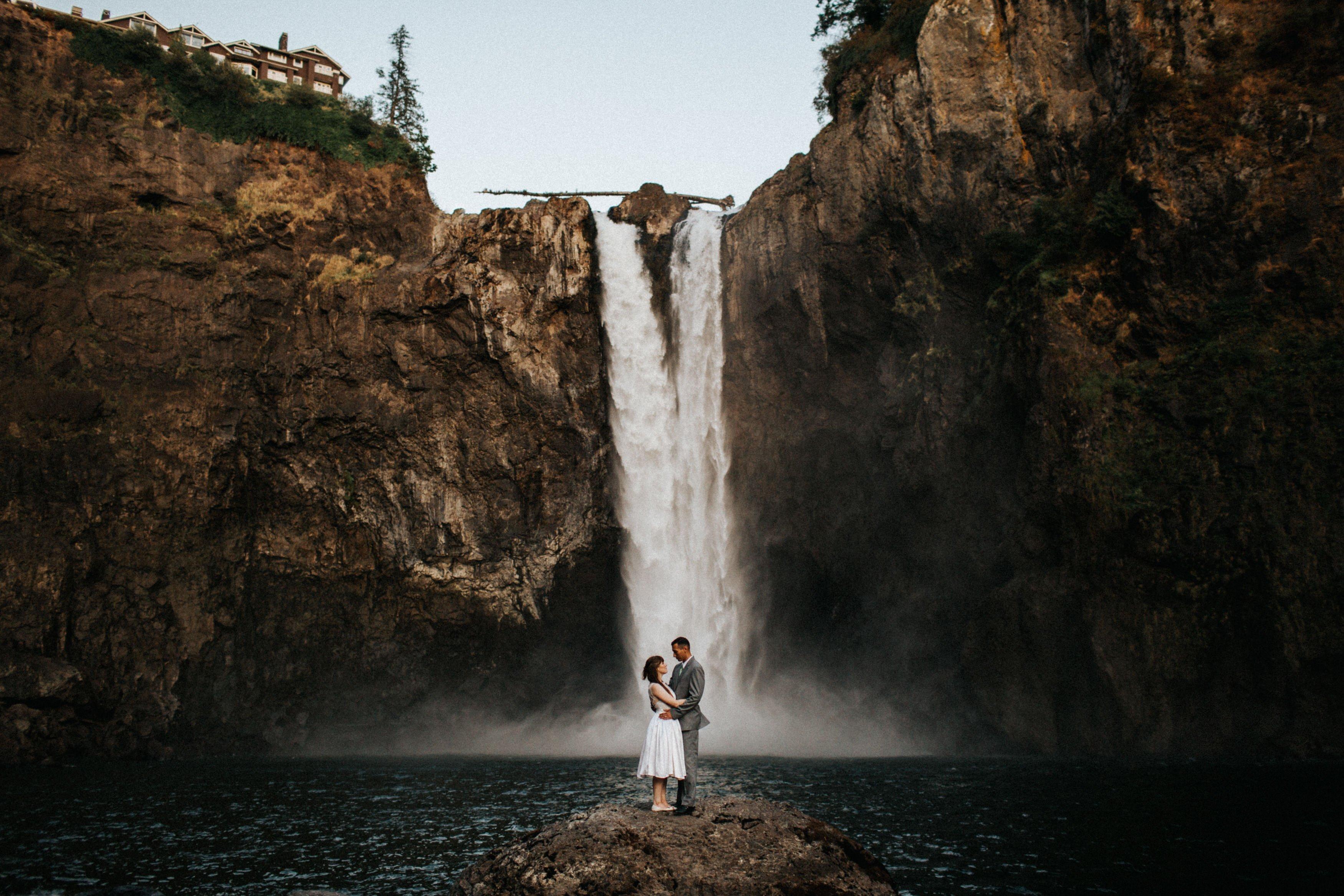 Wiley Putnam Seattle Wedding Photographer Snoqualmie Falls 1
