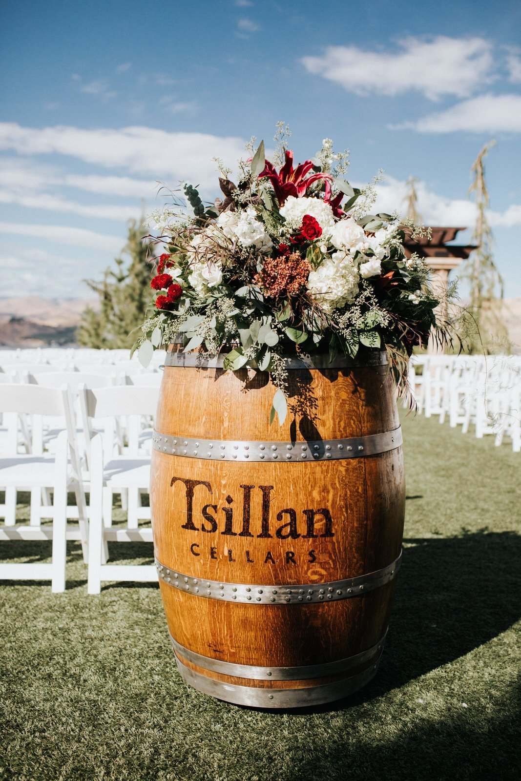 tsillan cellars wedding wiley putnam
