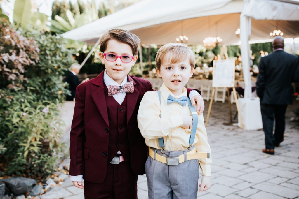 Two brothers pose for photos at a wedding in Woodinville.