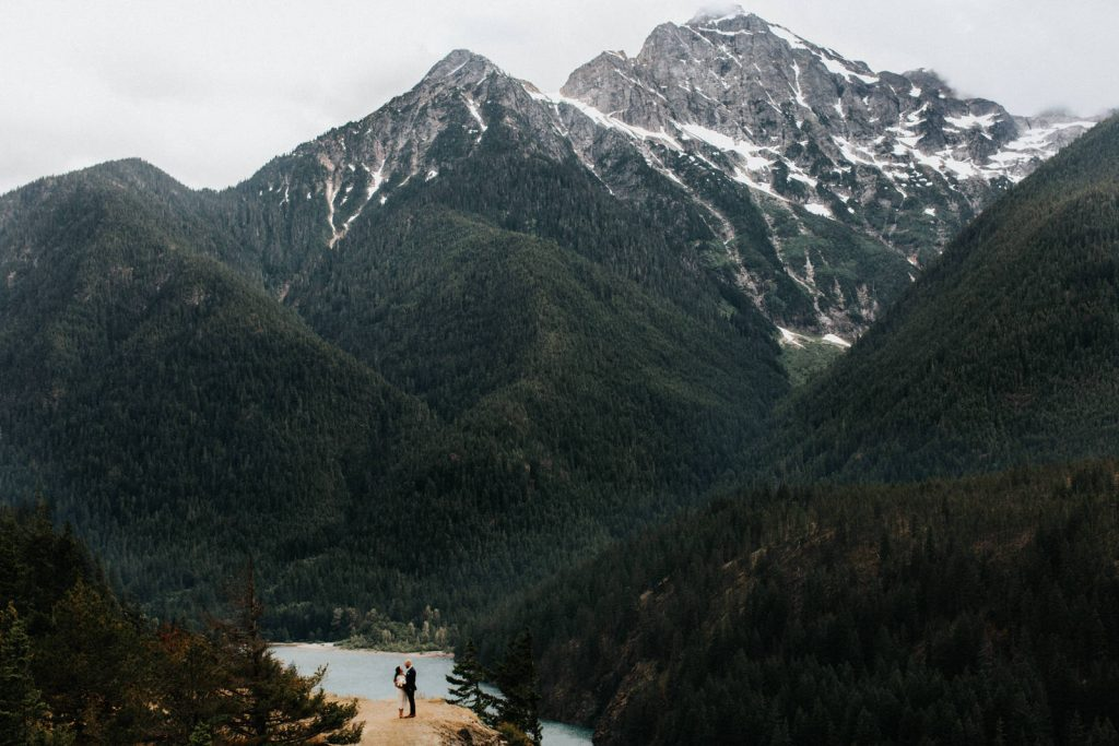A gorgeous north cascades elopement